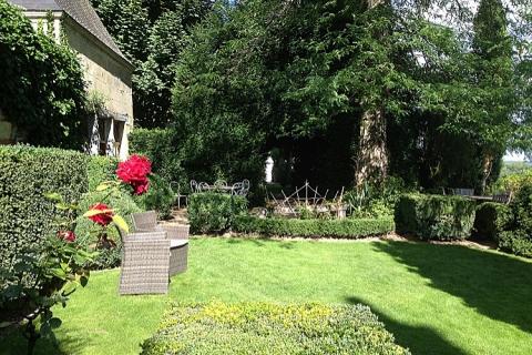 Einer der Gartenbereiche