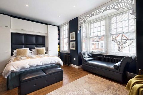 London Bed & Breakfast Sally - Blaues Doppelzimmer 3