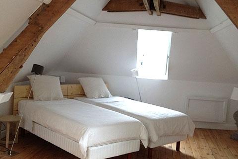 Ferienhaus - Zweibettzimmer