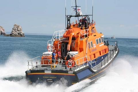 Rettungsbootrennen Brixham