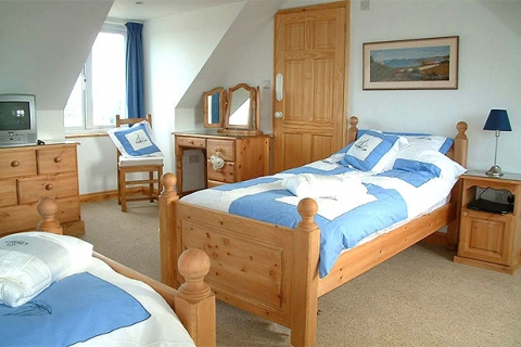 Ein Zweibettzimmer