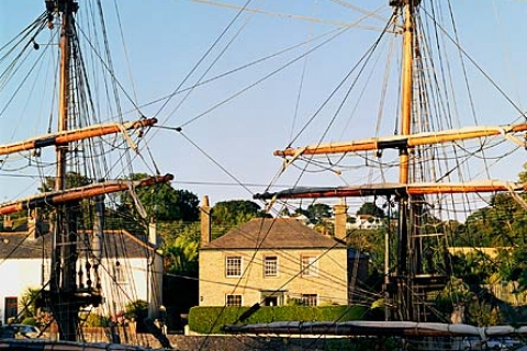 Schiffswrack in Charlestown