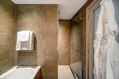 Badbeispiel mit Dusche