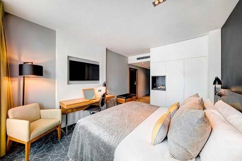 Ein City Doppelzimmer