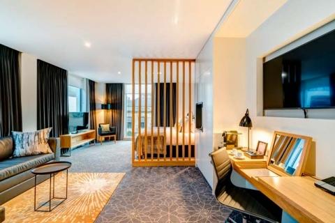 Ein Deluxe Doppelzimmer