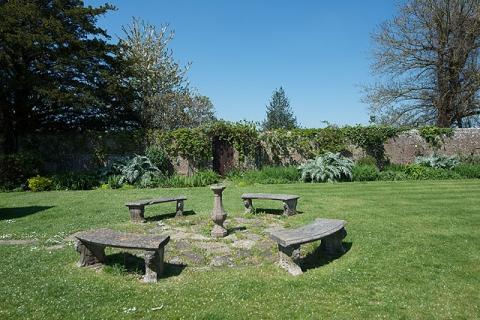 Garten des B&B