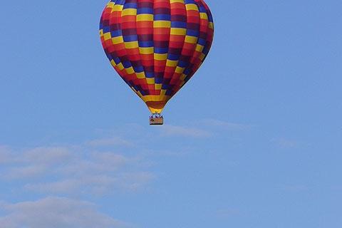 Heissluftballonfahrt an der Loire