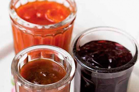 Selbst gemachte Marmelade