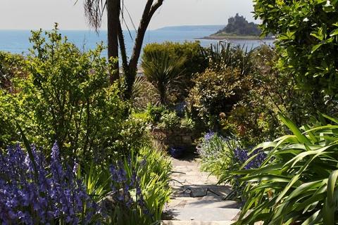 Kleiner Garten mit Aussicht