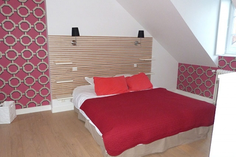 Rotes Doppelzimmer