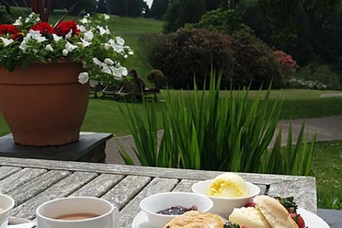 Cream Tea am Nachmittag