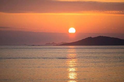 Sonnenuntergang auf St. Mary's