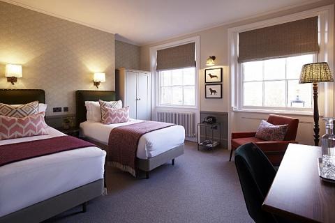 Ein Geräumiges Zweibettzimmer