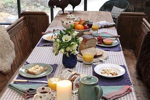 Frühstück im Loft