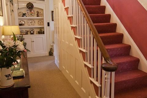 Treppenaufgang im B&B