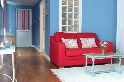 Blaues Familienzimmer