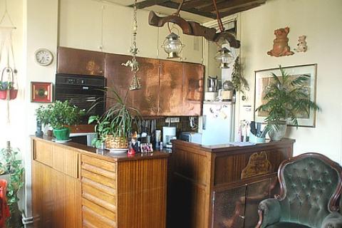 Gemütliche Küche/Esszimmer