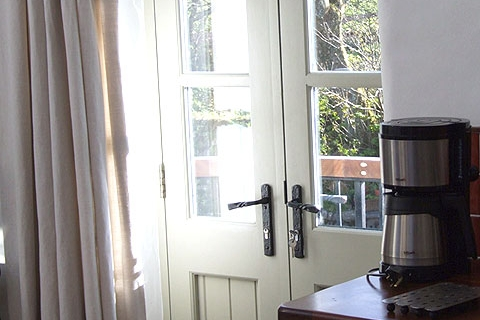 Fenstertüren zum Garten