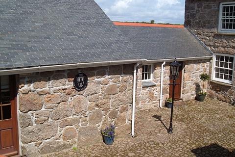 Zugang zu Zimmern im Nebengebäude