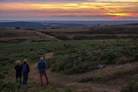 Abendstimmung im Dartmoor