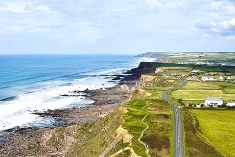 Küstenhotel nahe Bude, Nordküste Cornwall