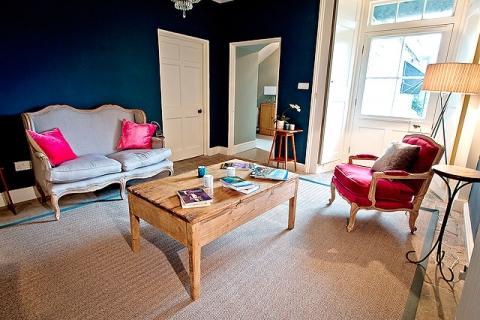 Eine Lounge