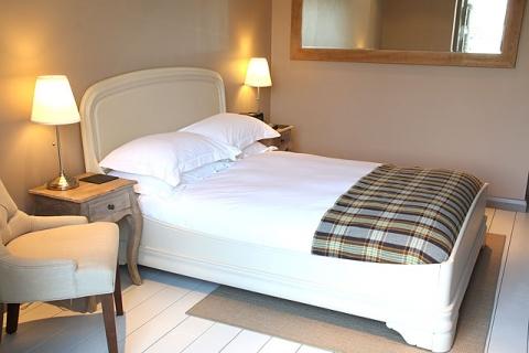 Schlafzimmer Ferienwohnung 1
