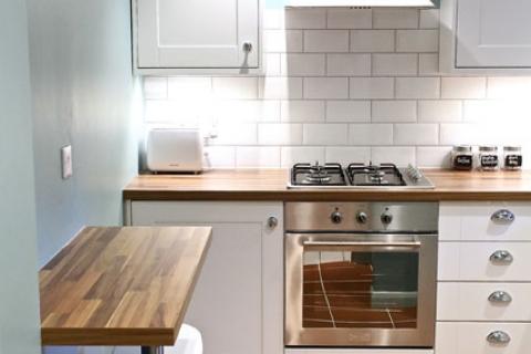 Küchenzeile Maisonette Fewo 2