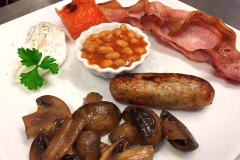 Beispiel Englisches Frühstück