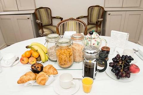 Frühstück bei Maureen