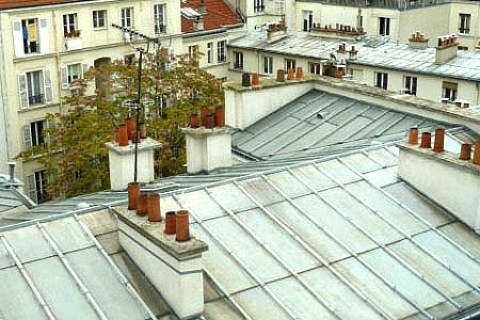 Blick über die Dächer von Paris