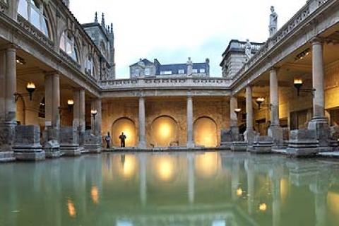 Römische Badanlagen in Bath