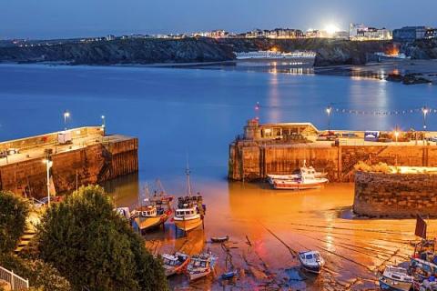 Der Hafen von Newquay