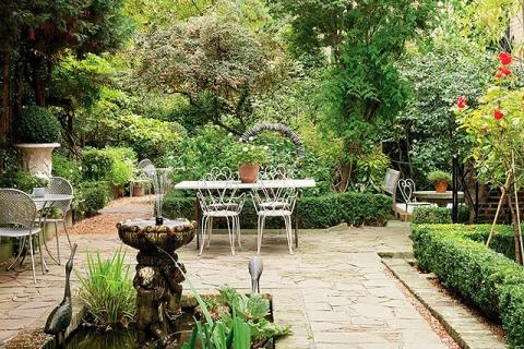 Garten des Hotels