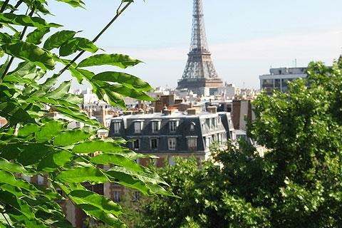 Ausblick auf Eiffelturm 324