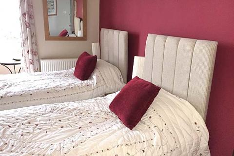 DZ 1 als Zweibettzimmer