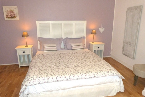 Rosa Doppelzimmer
