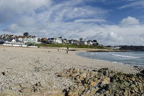 Strand von Falmouth
