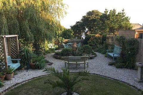 Hübscher Garten des B&B