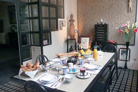 Frühstück Esszimmer