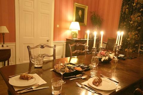 Beispiel Abendessen (im B&B)